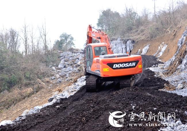 恩施网站建设--椿木营乡400余万元提档升级农村道路