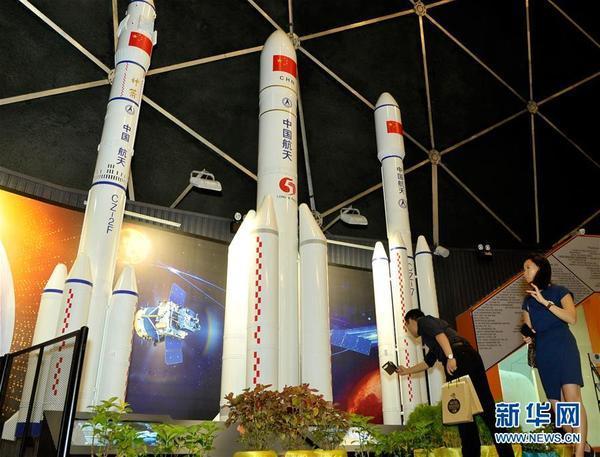 恩施网站建设--中国捐赠的航天器模型在马来西亚展出